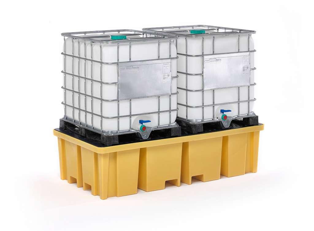 Auffangwanne aus PE für IPC-Behälter